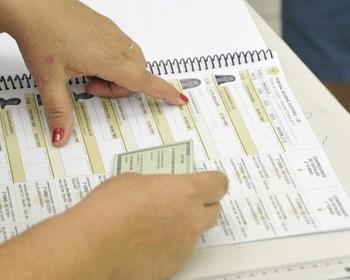 O que acontece se o meu nome não estiver no caderno de votação?