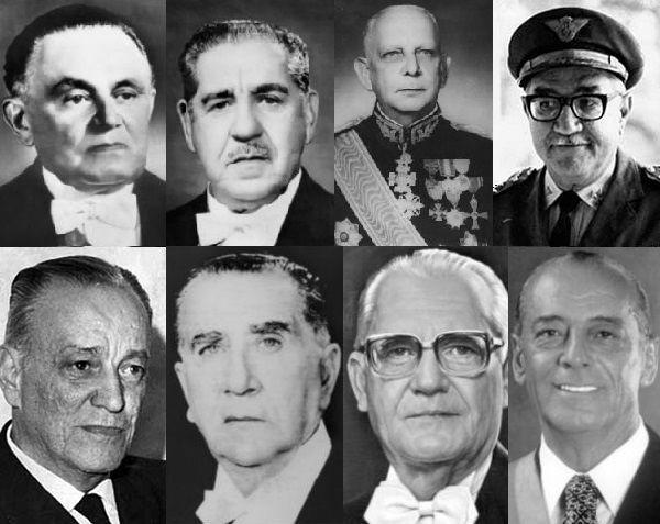 Presidentes da ditadura militar