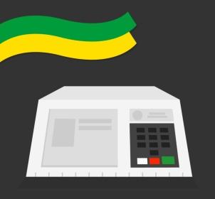 Como usar o simulador de votação na urna eletrônica