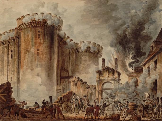 Queda da Bastilha - Revolução Francesa